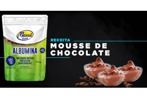 Receita: Mousse de Chocolate